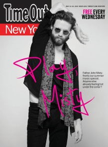 FJM time out NY front cover