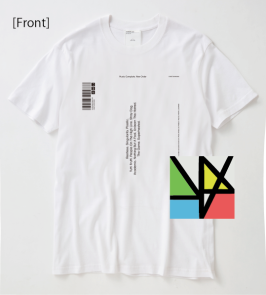 T-shirts front with cd